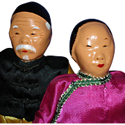Micale Lee Composition & Cloth Artist Dolls Hong Kong China 1940s