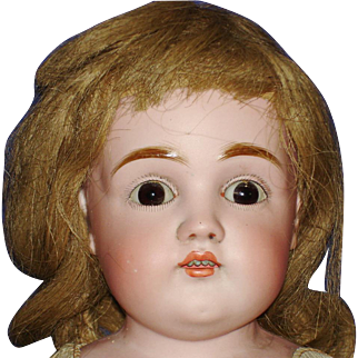 "20"" Kestner 154 Bisque Shoulder Head Doll ion Kid Body 1892-on"