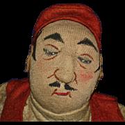 "13"" Kammer & Reinhardt Cloth Turkish Stockinette Character Doll 1920's Germany"
