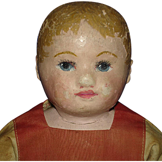 """12"""" Martha Chase Cloth Doll Original with Provenance 1889-on"""