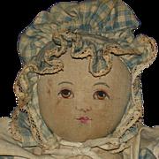 "14"" Painted Face Babyland Rag Doll Horsman 1893-on"