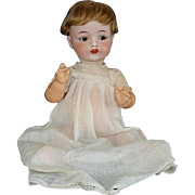 Horsman Fulper Pottery Bisque Head Baby Doll 1919 USA