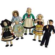 Becassine & Friends Cloth Doll Lot French Vintage