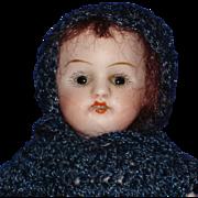 "5"" Kestner #150 All Bisque Sleep Eye Doll Germany 1880s-on"