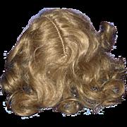 """Kestner Mohair Wig for 14"""" Doll Germany 1892-on"""
