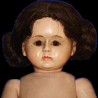 """16"""" Bebe Tout en Bois Wooden Doll Germany 1900-1914"""