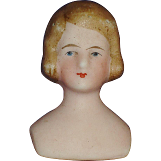 Bisque Dollhouse Lady Shoulder Head Germany 1920s-on
