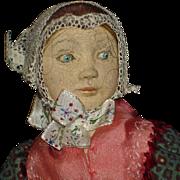 Birte Tage Hansen Creche Clay Doll Denmark 1950s