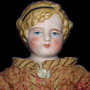 "10"" Simon Halbig Parian Lady Doll Germany 1869-on Alice Style"