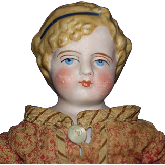 "10"" Simon Halbig Parian Lady Doll Germany 1869-on Alice Style"