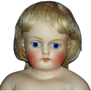 "German 11"" CM Solid Dome Bisque Shoulder Head Fashion Doll"