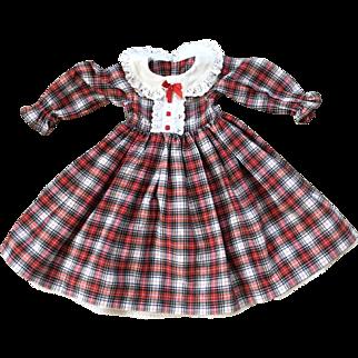 Dolls plaid dress