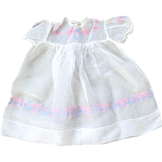 Vintage baby / doll dress
