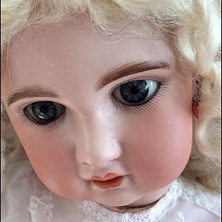 "Jumeau 1907 bebe size 9 21"" Gorgeous"
