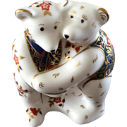 Royal Crown Derby two bears