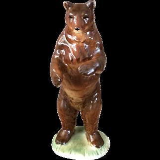 Fairing - big brown bear