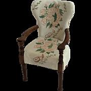 Miniature Winston Churchill dining chair - Chartwell, Kent