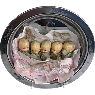 Dionne quintuplets and Dionne baby bowl