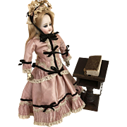 """Complete bible and lectern suitable for dolls vignette 5 1/2"""" tall"""