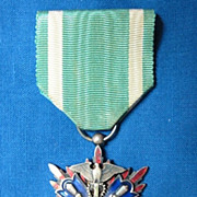 WWII Japanese Order of the Golden Kite 5th Class Medal