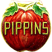 PIppins Brand Cigar Advertising Collar or Lapel Clip Boston, Mass