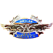 1954 NASCAR Auto Racing Member Lapel Pin mint condition