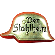 "Der Stahlhelm ""Steel Helmets"" Members Lapel Pin mm ca. 1930s"