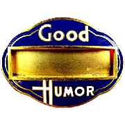 Good Humor Ice Cream Vendors Identification ID Badge ca. 1940's-1950's