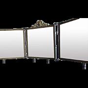 Victorian Triptych Mirror