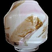 Handblown Fostoria'77 Vase