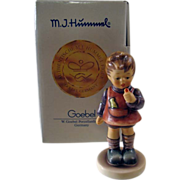 Goebel Hummel Delicious 1st Issue TMK 7 with Box