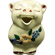 Smiley The Pig Pitcher By Shawnee Pottery