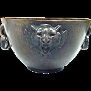 Tiffany & Co. Bronze Planter/Bowl With Tiger's head