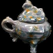 Royal Bayreuth Spikey Murex Shell Sugar Bowl