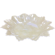 Irish Belleek Star Shaped Dish