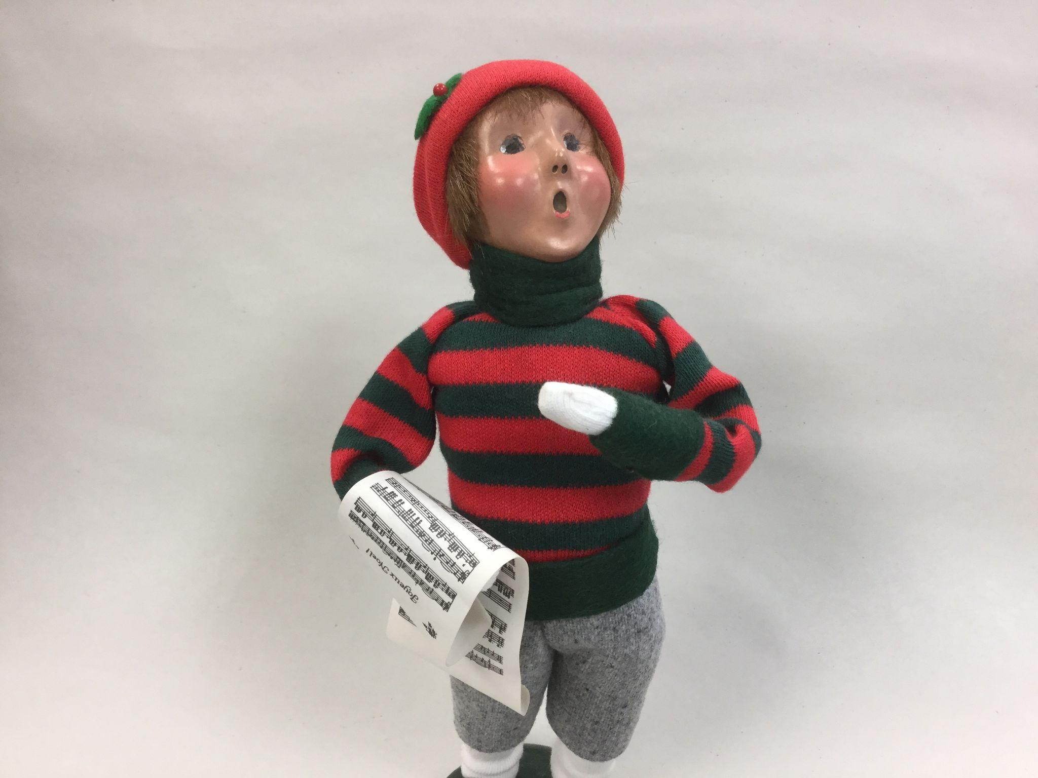 Christmas - Byers Choice The Carolers Traditional Child Figurine ...