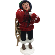 Christmas - Byers Choice The Carolers - Snowshoe Child