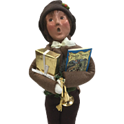 Christmas - Byers Choice The Carolers - Boy with Toys