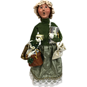 Christmas - Byers Choice The Carolers - Victorian Lady In Green