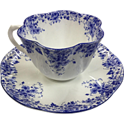 Shelley Dainty Blue Teacup & Saucer