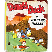 1947 Big Little Book Donald Duck in Volcano Valley