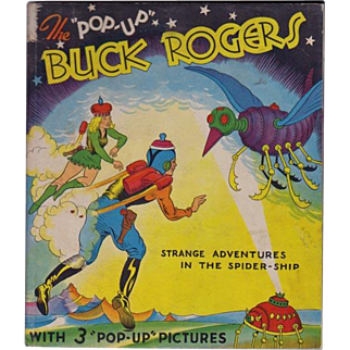 The Pop-Up Buck Rogers Book; Strange Adventures in the Spider Ship