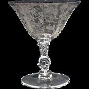 Rosepoint 6oz Goblet by Cambridge Glass