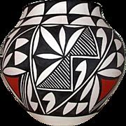 Vintage ACOMA Pueblo Collector Pottery D Antonio Signed by the Artist