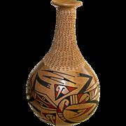 Mata Ortiz Mexican Pottery Vase Olla by Soto