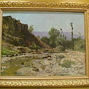 French Impressionist Landscape, George William Damaye, (b.1875)