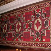 "Oriental Turkish Rug Hand Woven all wool (3'6""X5'6"")"