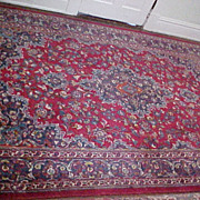 "Oriental Persian Rug Belouch Meshed 6'6""X 9'6"""