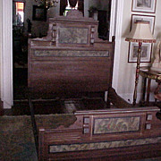 American Victorian cottage bed 1850-90