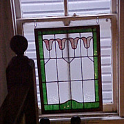 Stained Glass from old Philadelphia house 1800's